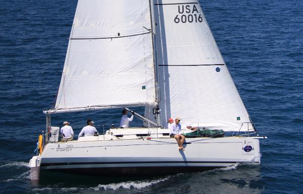 Beneteau First 30 and Trailer Miami to KW Regatta in 2015
