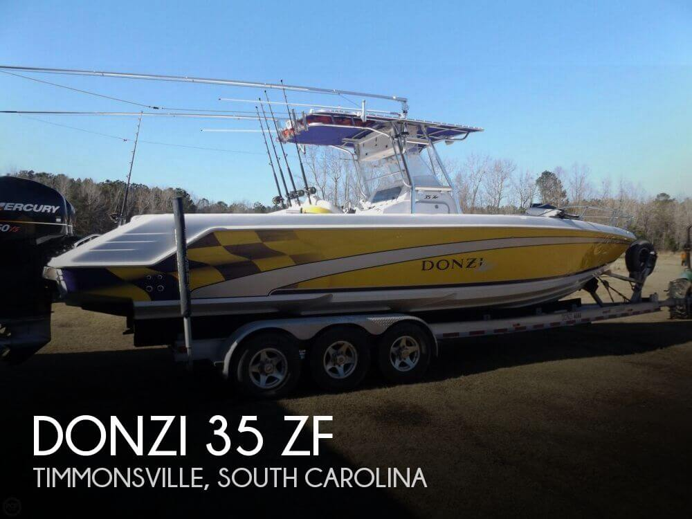 Donzi 35 Zf 2004 Donzi 35 ZF for sale in Timmonsville, SC