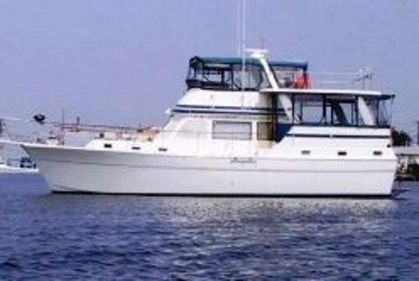 Gulfstar Trawler Port side