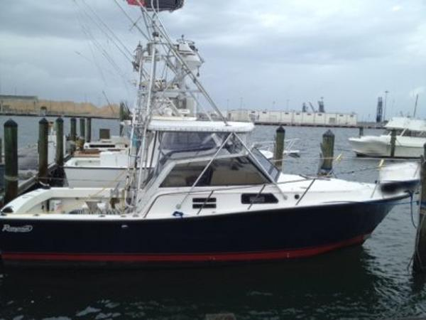 Rampage Charter Fishing Vessel