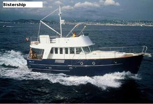 Beneteau Swift Trawler 42 Photo is of sistership