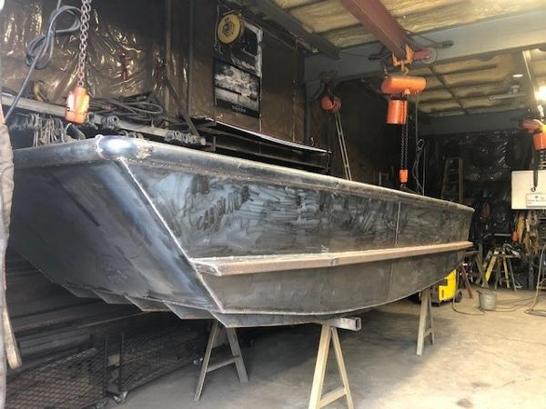 Custom 17' x 5'6 Steel Work Boat