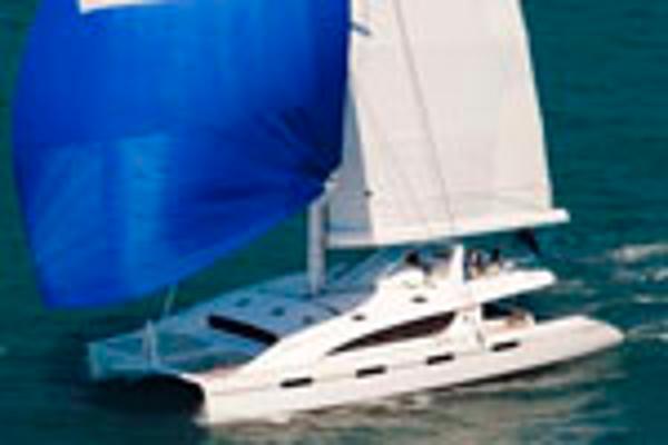 Matrix Yachts Silhouette 760 Sailing