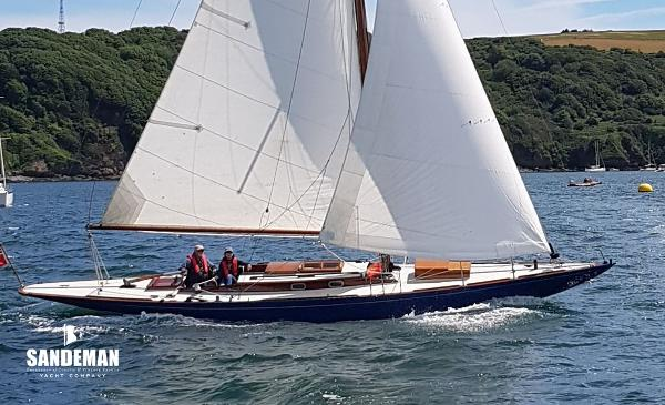 Custom Jac M Iversen 75 Sq M Sloop