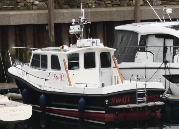 Mitchell 28 Sea Warror Port quarter