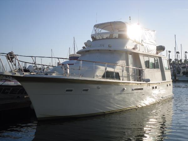 Hatteras Motor Yacht - USCG Certified Port View