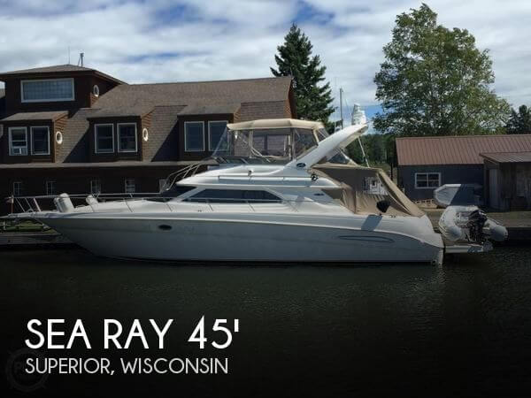 Sea Ray 450 Express Bridge 2002 Sea Ray 450 Express Bridge for sale in Superior, WI