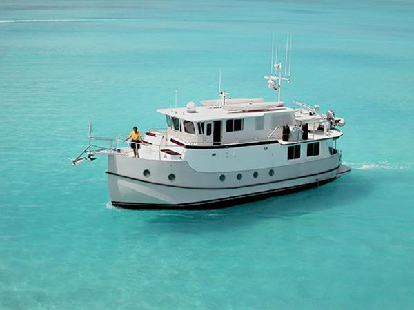 Mirage Great Harbour 47 Trawler East Passage In the Bahamas