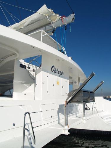 Matrix Yachts Mirage 760 - Aft deck