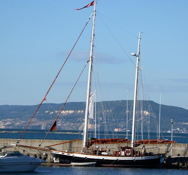 Colin Archer Gaff Rigged 45 Ketch