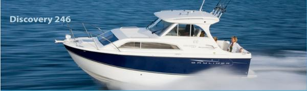 Bayliner Discovery 246 Cruiser Profile of sistership