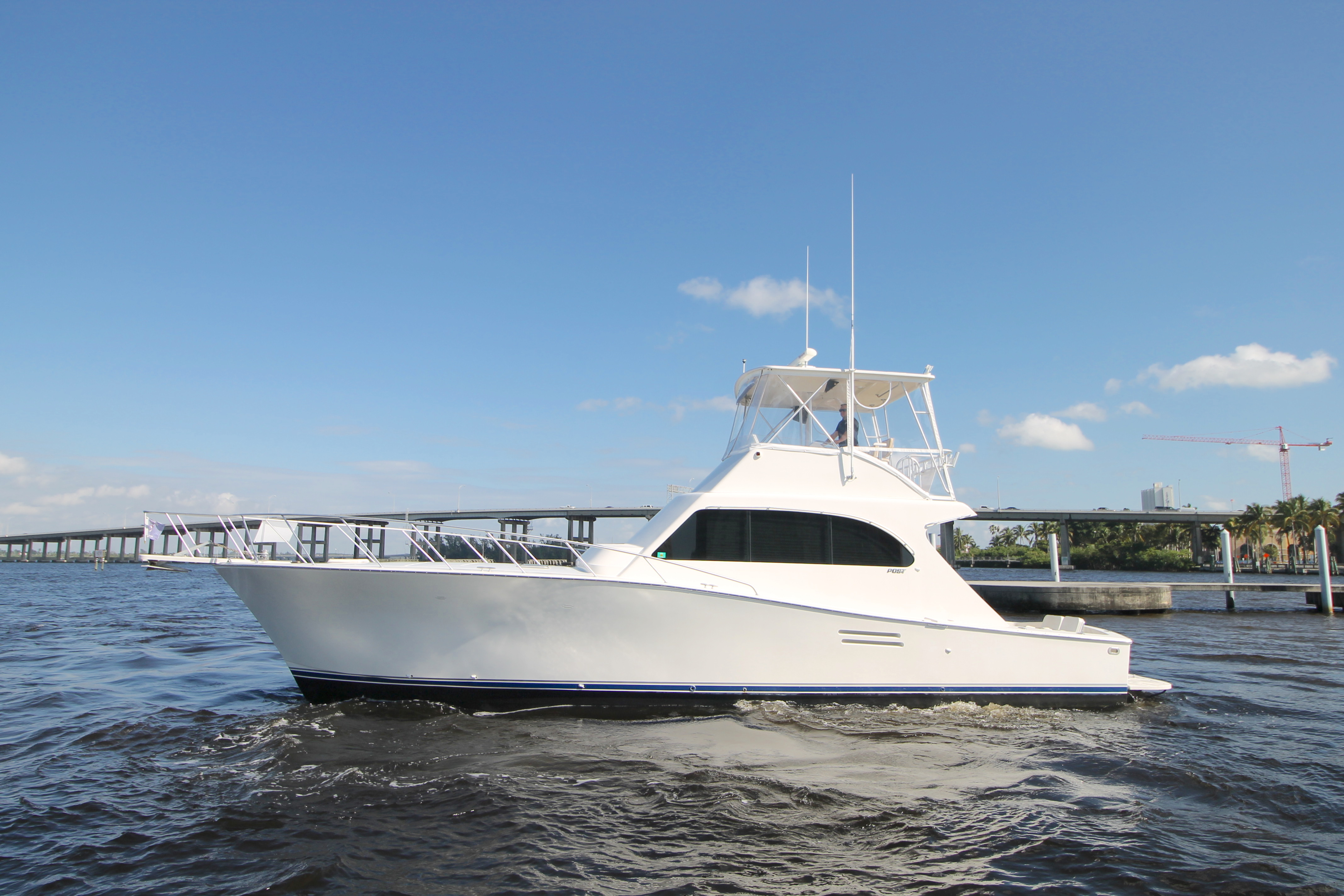 Post 46 MK II Sportfish Convertible