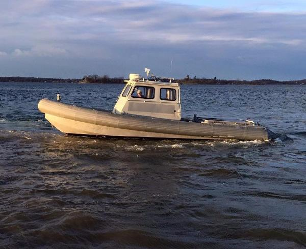 Aluminum Patrol Work Boat Ex US Navy Long Range