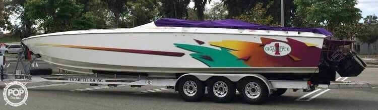 Cigarette Top Gun 38 1996 Cigarette Top Gun 38 for sale in Canyon Lake, CA