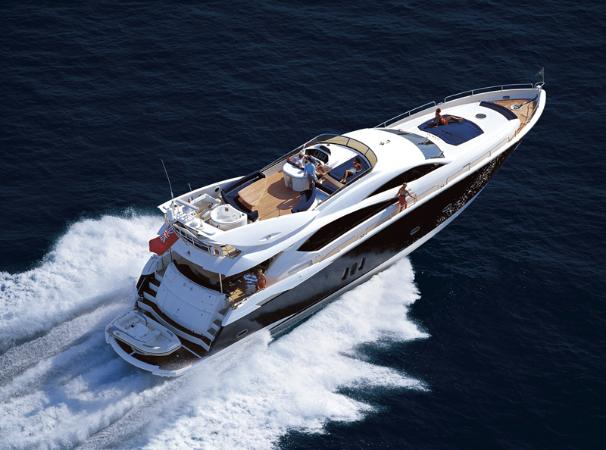 Sunseeker 82 Yacht Manufacturer Provided Image: Running