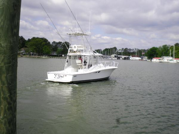 Luhrs Tournament 320 Open Stern view