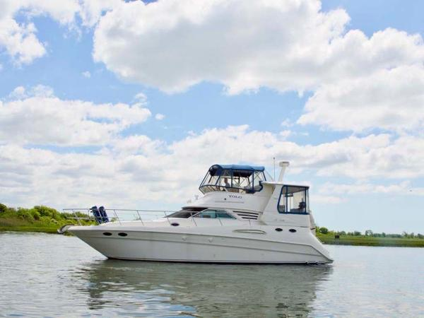 Sea Ray 420 Aft Cabin Port Profile