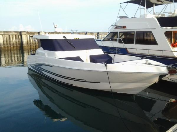 Gulf Craft Silvercraft 36HT (Hard Top)