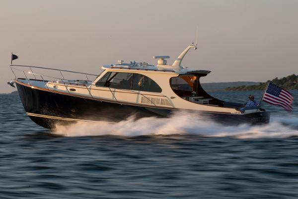 Hinckley Talaria 43 Motoryacht Manufacturer Provided Image