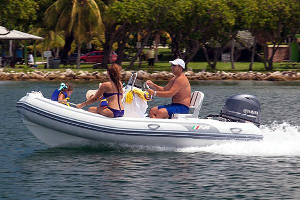 AB Inflatables Oceanus 14 VST