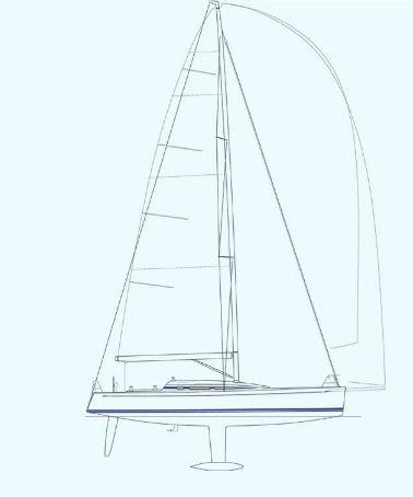 Nautor's Swan CS42 Sail Plan