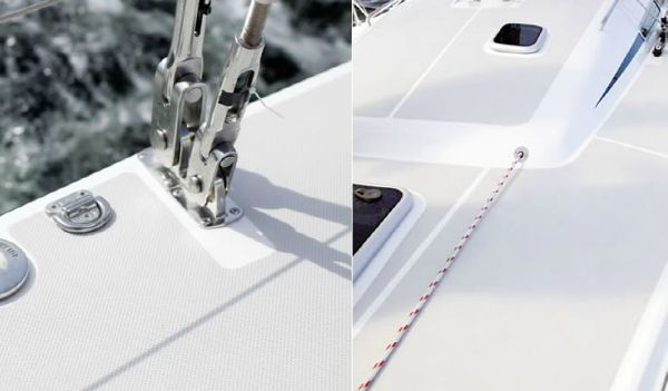 Nautor's Swan CS42 Deck