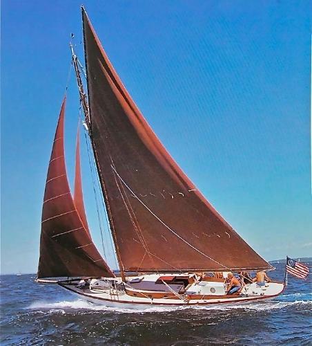 John G Alden Sloop-Cutter