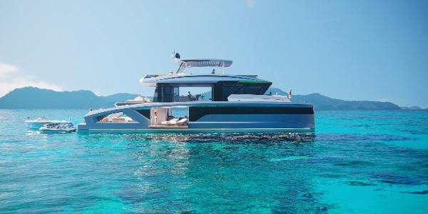 Lazzara Yachts LPC 85 Manufacturer Provided Image: Lazzara Corona 85