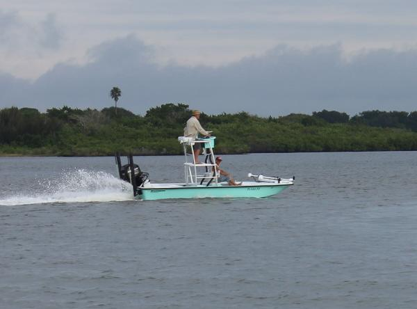 Bossman 18 Skimmer Boca Grande Tower