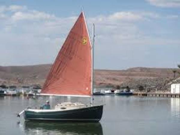 Compac Sun Cat Tanbark Sails  (sistership)