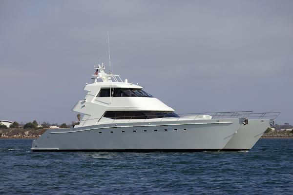 CUSTOM BUILT - Compass Rose International Power Catamaran