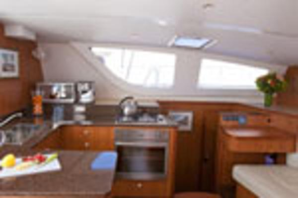 Matrix Yachts Vision 450 Galley