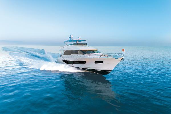 CL Yachts CLB72 CLB72 running