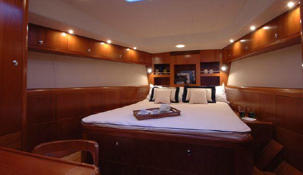 Nautor's Swan 53 Owner's Cabin