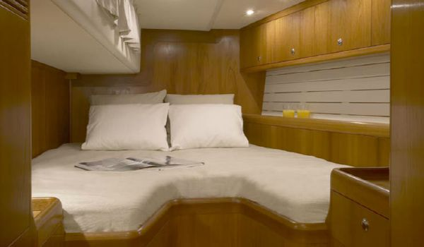Nautor's Swan 53 Aft Guest Cabin
