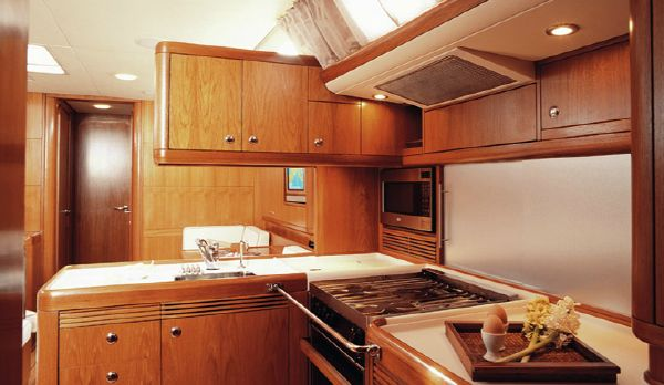 Nautor's Swan 53 Galley