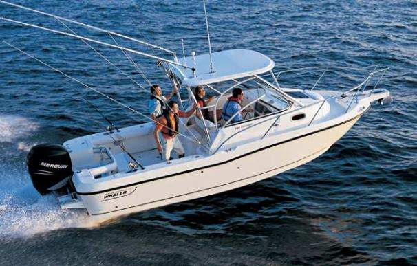 Boston Whaler 235 Conquest Manufacturer Provided Image