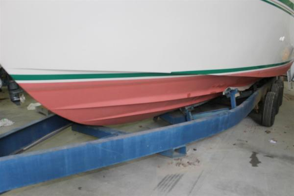 Port Side Bottom and Storage Cradle Trailer