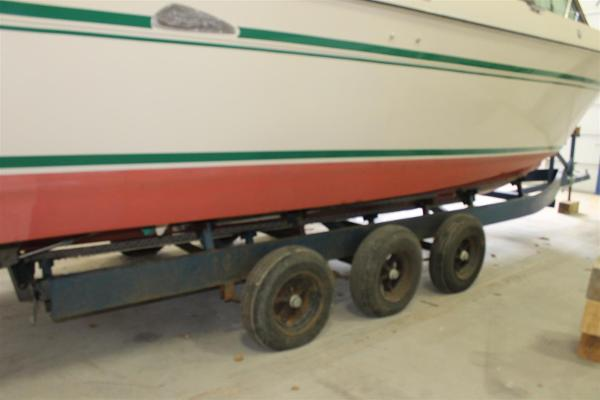 Triple Axle Storage Cradle Trailer