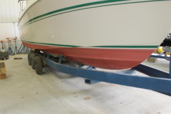 Starboard Hullside and Storage CradleTrailer
