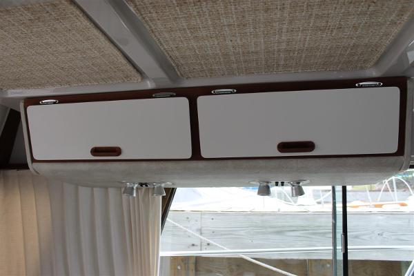 Overhead Storage in Main Salon