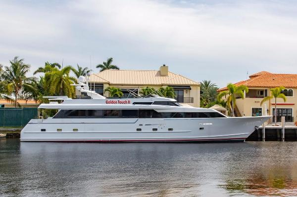 Broward Raised Bridge Motor Yacht GOLDEN TOUCH II