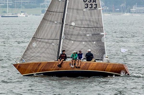 Nimble 30 Under sail MOY Regatta