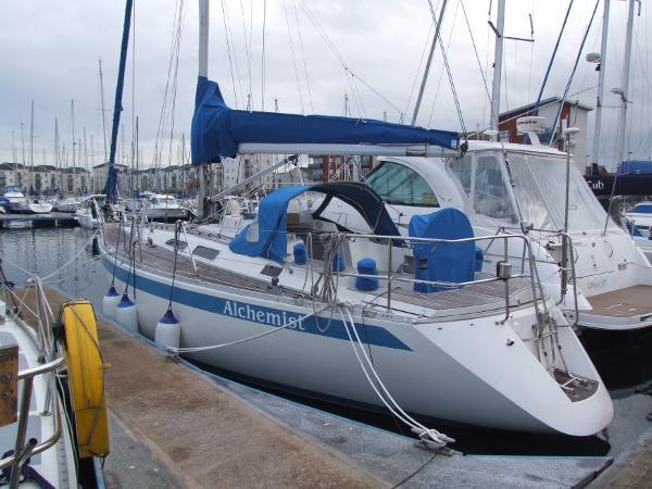Sweden Yachts 370 At Berth