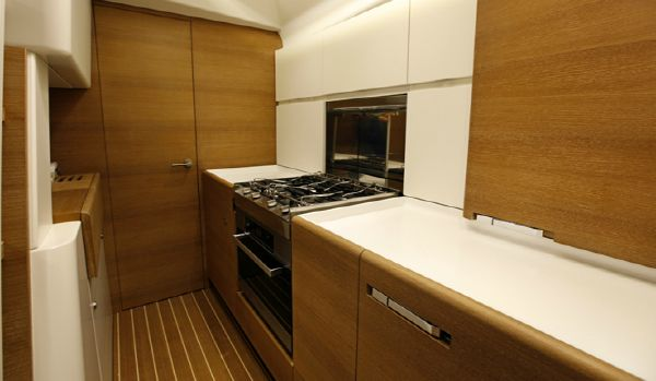 Manufacturer Provided Image: Nautor Swan 60 Galley
