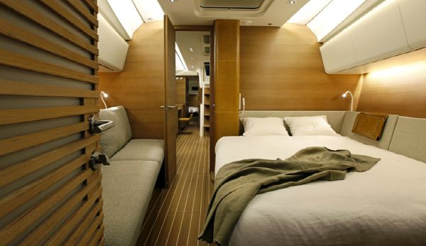 Manufacturer Provided Image: Nautor Swan 60 Owner's Cabin