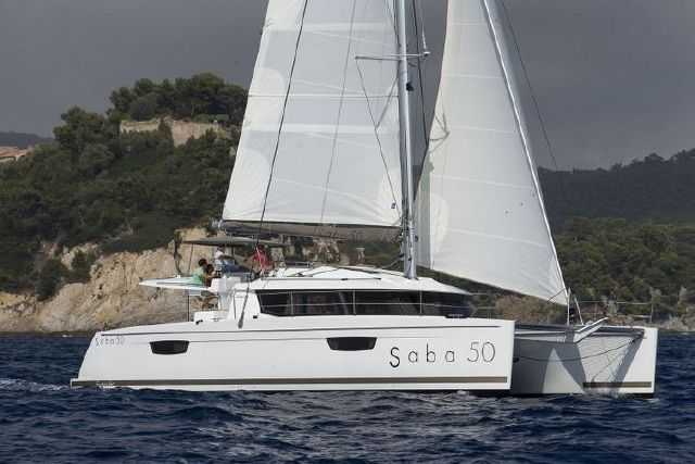 Manufacturer Provided Image: Fountaine Pajot SABA 50 Side View