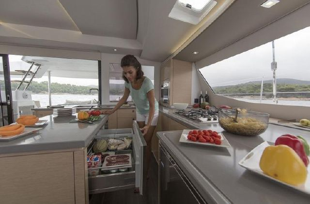 Manufacturer Provided Image: Fountaine Pajot SABA 50 Galley