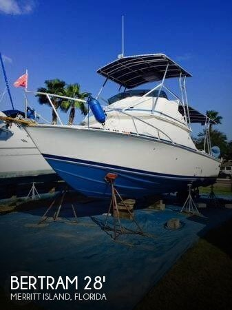 Bertram 28 Sport Fisherman 1983 Bertram 28 for sale in Merritt Island, FL
