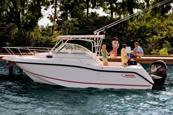 Boston Whaler 255 Conquest Manufacturer Provided Image